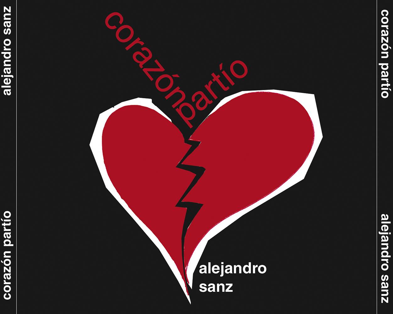 CD cover til Alejandro Sanz