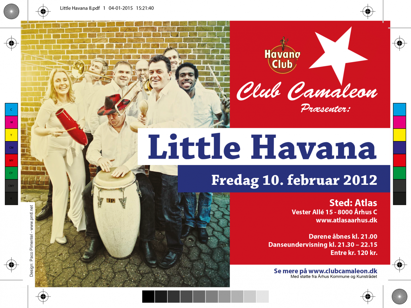 Flyer Club Camaleon - Little Havana
