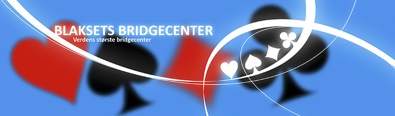 Grafik til Blaksets Bridgecenters website