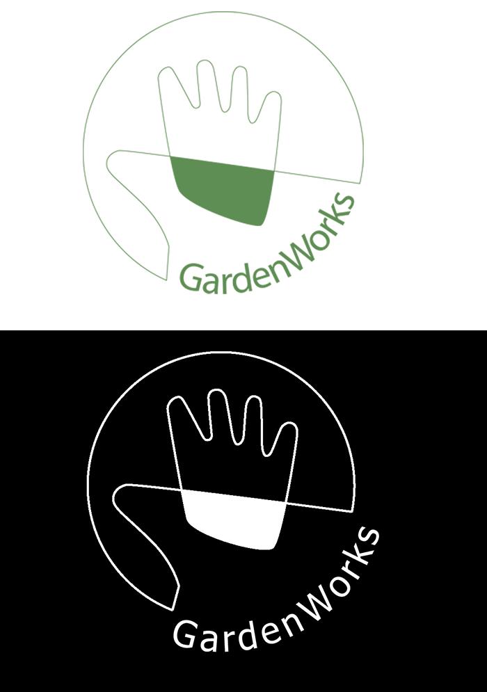 Logo til GardenWorks - Hasselager