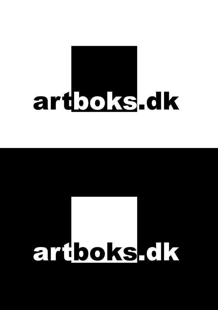 Logo til kunstgalleriet artboks - Aarhus
