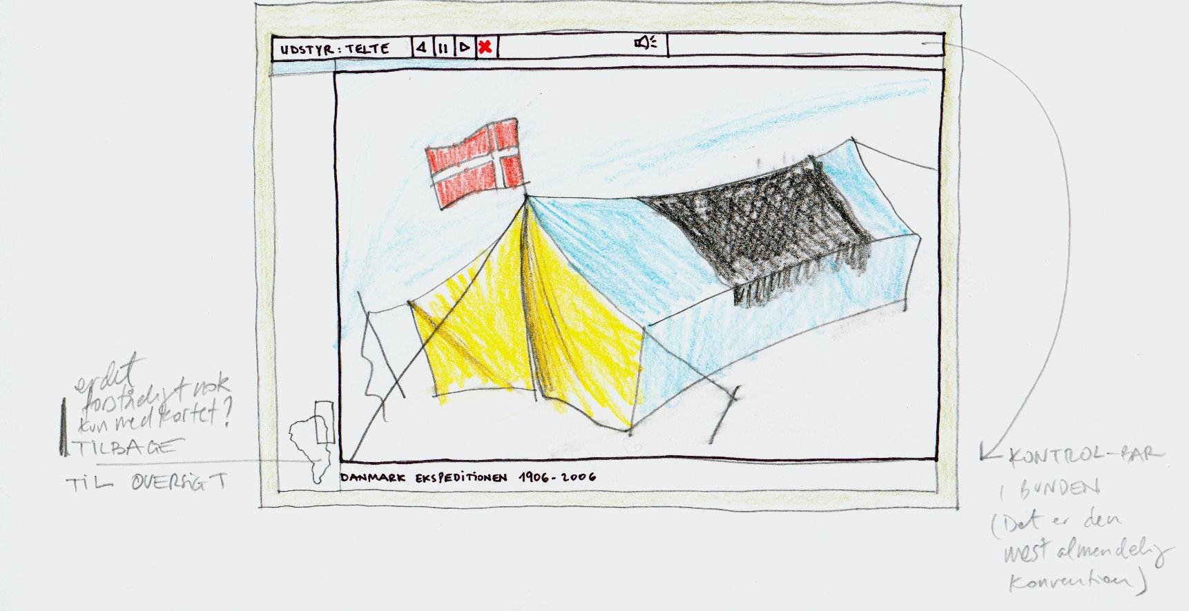 Storyboard til DRs Danmark Ekspeditionen 3